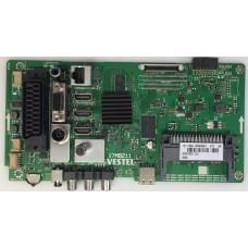 10110502 23591433 17MB211 VESTEL 43FD7500 43 SMART LED TV İÇİN ANAKART MAİN BOARD