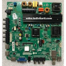 TP.VST59.P75 L433-14 LGLC4900UJ-SGE3 108W45 AWOX 49124 FULL HD LED TV İÇİN ANAKART MAİN BOARD