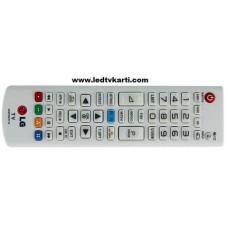 AKB73975716 LG SMART LED TV İÇİN ORJİNAL MAVİ HOME SMART VE MY APPS TUŞLU LG ORJİNAL BEYAZ RENK UZAKTAN KUMANDA