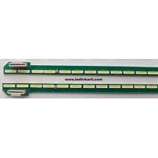 49 V15 SA UD REV 0.1 6 L-TYPE 6916L2086B 1505 49 V15 SA UD REV 0.1 6 R-TYPE 6916L2087B 6922L-0163A LG 49UF8507 SMART 4K ULTRA HD LED TV İÇİN LED BAR PANEL AYDINLATMA LEDLERİ BACK LİGHT