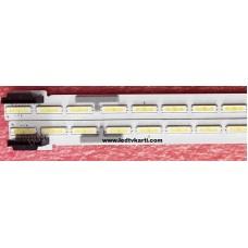 55 V16 ART3 2466 REV 1.0 1 R-TYPE 1609 DN6415 5E 55 V16 ART3 2465 REV 1.0 1 L-TYPE 6922L-0189A 6916L2466A 6916L2465A LC550EGG FJ M5 LG 55UH650V SMART 4K ULTRA HD LED TV İÇİN LED BAR PANEL AYDINLATMA LEDLERİ BACK LİGHT
