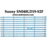 MS-L1744 V1 CY_HT+HD_48D_3528 AYS10 LSC480HN08-8 SUNNY SN048LD19-S2F LED TV İÇİN LED BAR BACK LİGHT