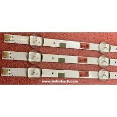 V5DN-395SM0-R2 V5DN-395SM0-R3 DFD-8 CY-JJ040BGNV6V Y-JM040BGNV5H SAMSUNG UE40M5000A UE40J5070SS UE40J5270SS SMART LED TV İÇİN LED BAR PANEL AYDINLATMA LEDLERİ BACK LİGHT
