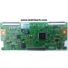 6870C-0240C LC420WXN LC370WXN A-1-2 TOSHIBA 37AV615DG LCD TV İÇİN T-CON TCON KARTI TCON BOARD