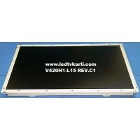 V420H1-L15 REV.C1 CHI MEI OPTOELECTRONICS VESTEL 42925 LCD TV İÇİN LCD PANEL EKRAN