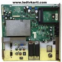 715G3431-1 WK 0901 CBPF92JBZ3 TOSHIBA 37AV615DG LCD TV İÇİN ANAKART MAİNBOARD