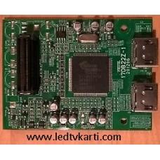 17DB22Z-1 201206 20310184 20310307 VESTEL PIXELLENCE 32760 32'' TFT-LCD TV HDMI KARTI