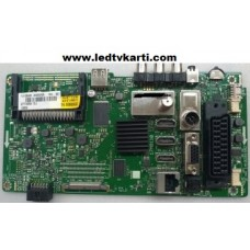 10105966 23368925 23368926 23440060 17MB110 VESTEL 55FB7300 SMART LED TV İÇİN ANAKART MAİN BOARD SEG 55SCF7620